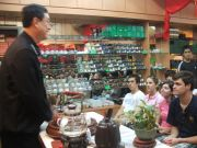 Everyone is mesmerized by Vincent and his tea knowledge