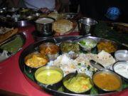 Dinner at an Indian Restaurant