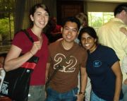 Elby and me with Harris, an NUS student that studied at UNC last semester