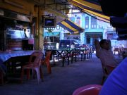 Little India during one of its more quiet moments.