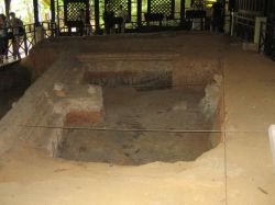 Fort Canning archaeological dig